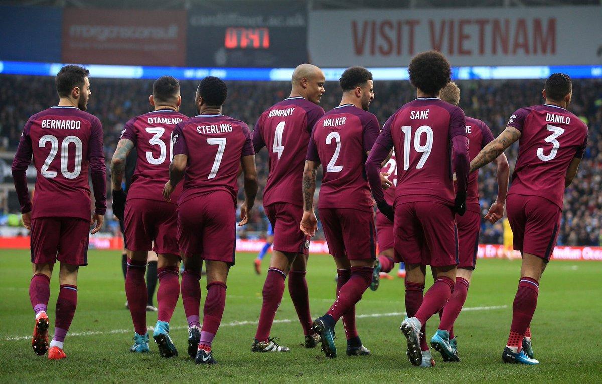 أهداف مباراة مانشستر سيتي وكارديف سيتي 2-0 كأس الاتحاد الإنجليزي