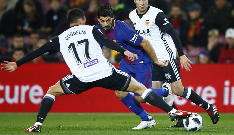 أهداف مباراة برشلونة وفالنسيا 1-0 كأس إسبانيا