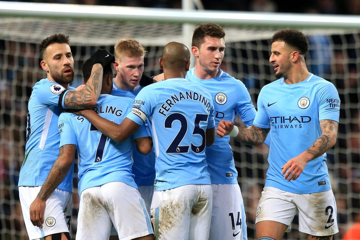أهداف مباراة مانشستر سيتي ووست بروميتش 3-0 الدوري الإنجليزي