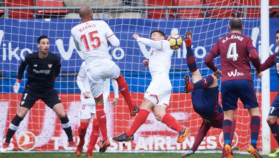أهداف مباراة إيبار وإشبيلية 5-1 الدوري الإسباني
