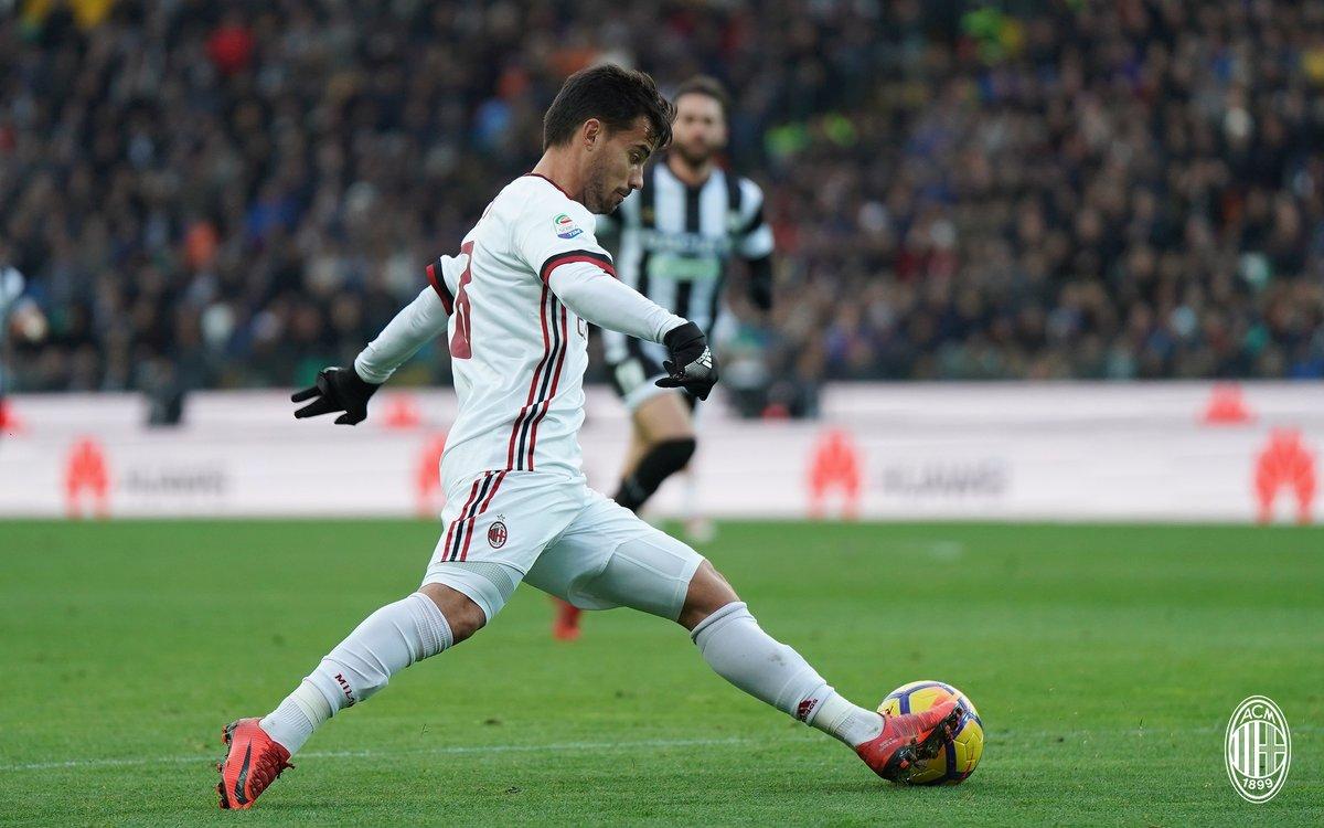 أهداف مباراة ميلان وأودينيزي 1-1 الدوري الإيطالي