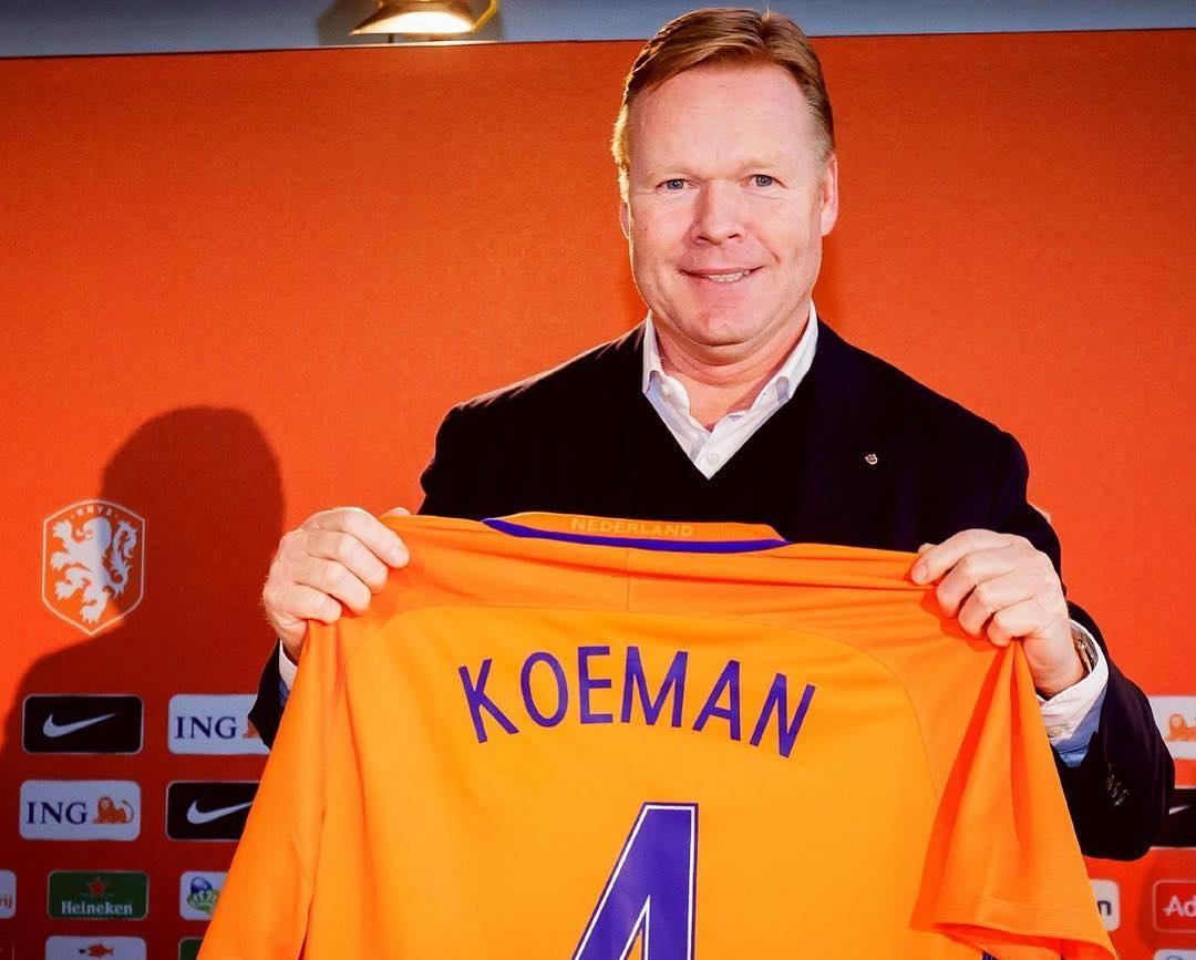 رسمياً … رونالد كومان مدرباً جديداً للمنتخب الهولندي