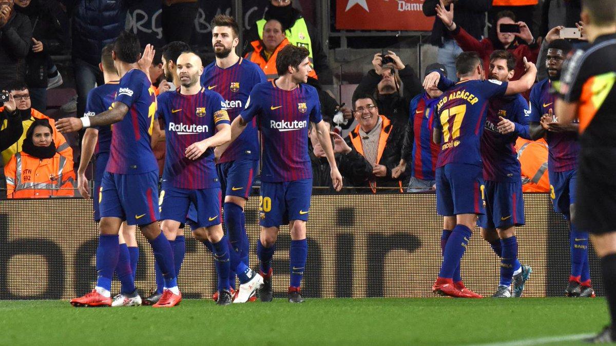 أهداف مباراة برشلونة وفالنسيا 2-0 كأس إسبانيا