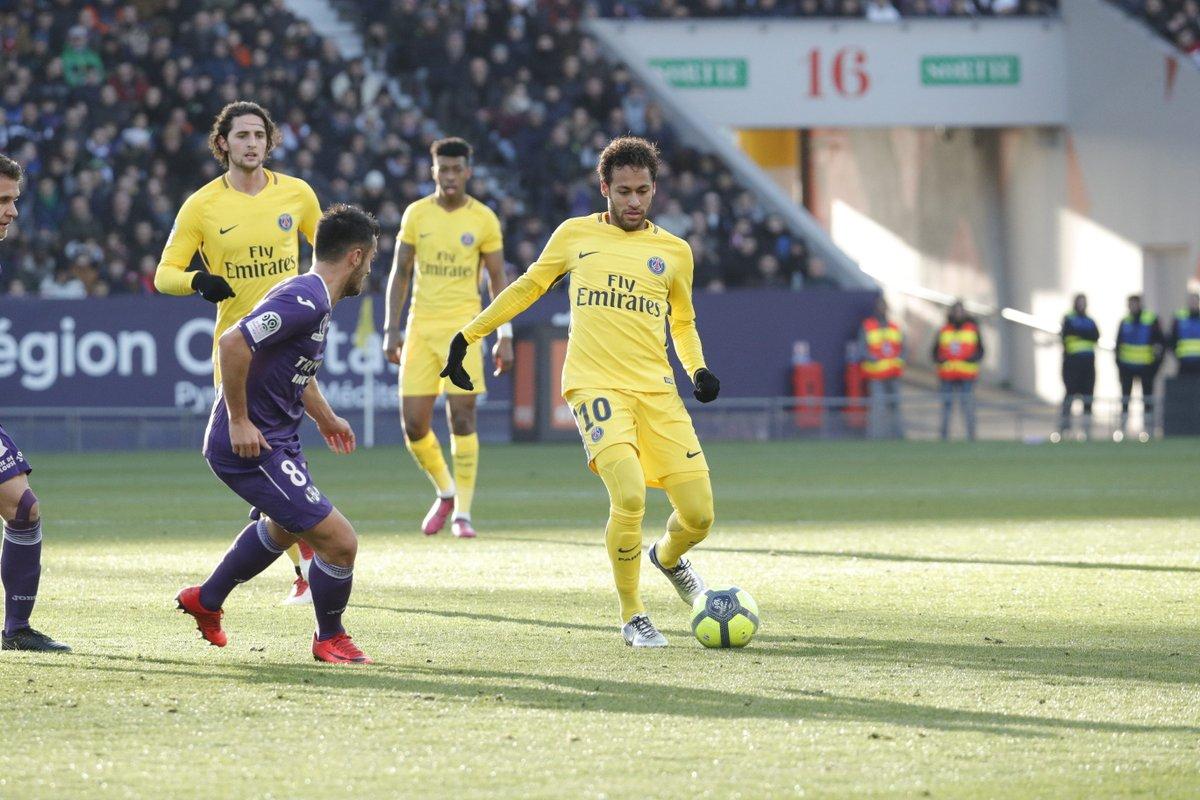 أهداف مباراة باريس سان جيرمان وتولوز 1-0 الدوري الفرنسي