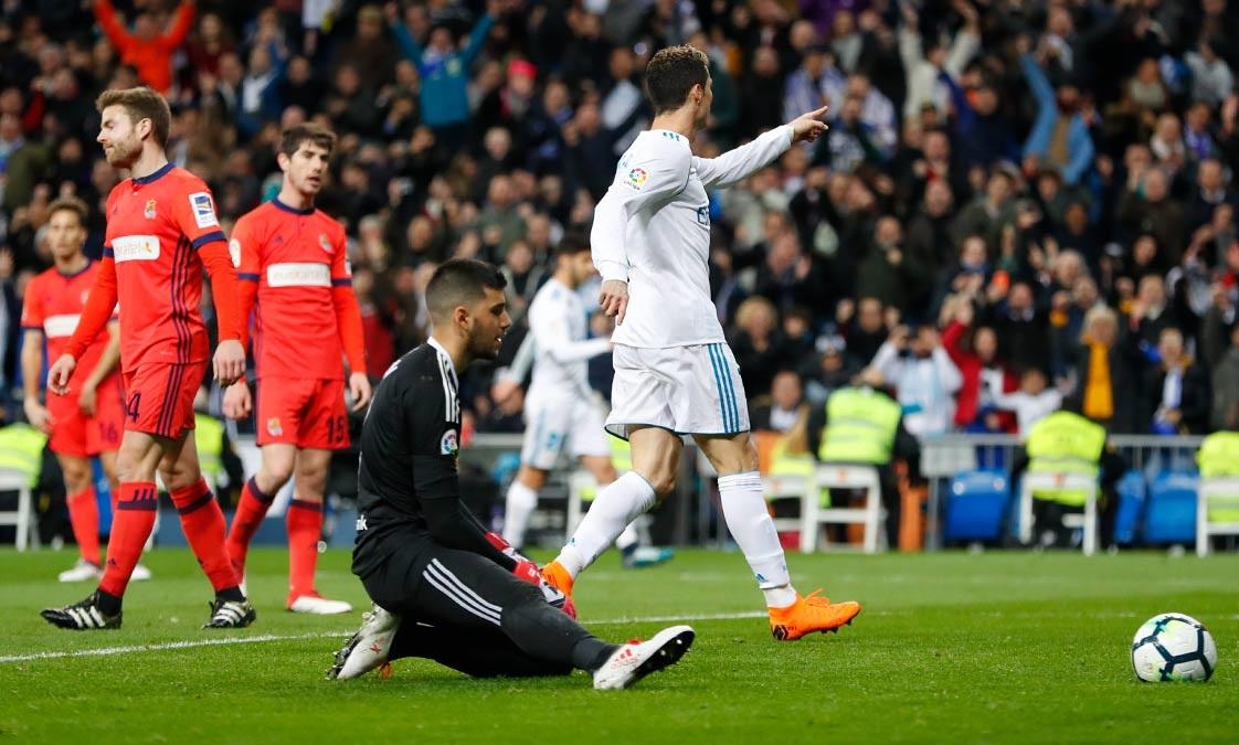 أهداف مباراة ريال مدريد وريال سوسيداد 5-2 الدوري الإسباني