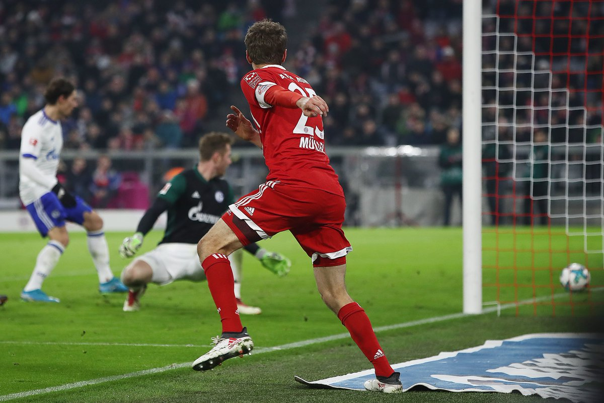 أهداف مباراة بايرن ميونخ وشالكة 2-1 الدوري الألماني