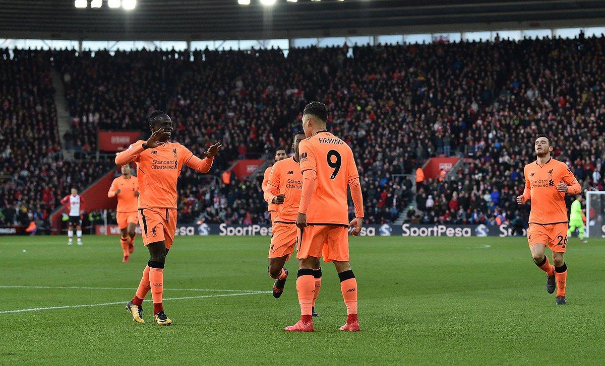 أهداف مباراة ليفربول وساوثهامبتون 2-0 الدوري الإنجليزي