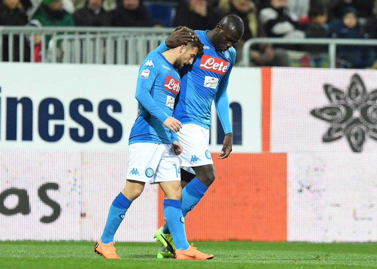 أهداف مباراة نابولي وكييفو 2-1 الدوري الإيطالي