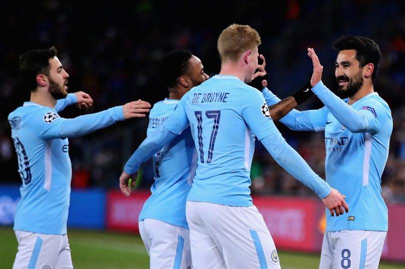 أهداف مباراة مانشستر سيتي وبازل 4-0 دوري الأبطال