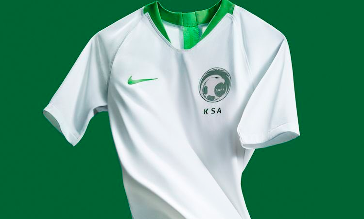 رسمياً … الكشف عن طقم المنتخب السعودي في كأس العالم 2018