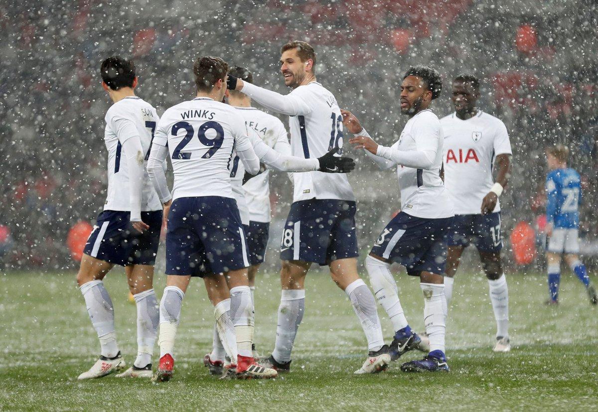 أهداف مباراة توتنهام وروشديل 6-1 كأس الاتحاد الإنجليزي