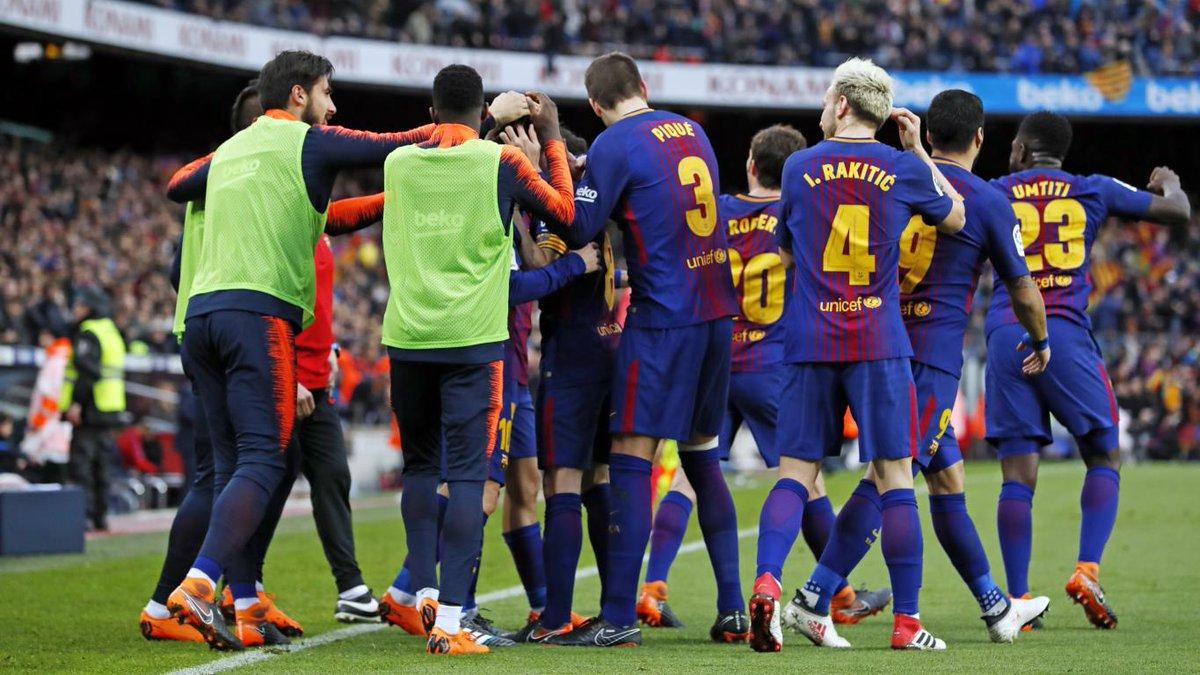 أهداف مباراة برشلونة وأتلتيكو مدريد 1-0 الدوري الإسباني