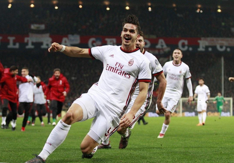 أهداف مباراة ميلان وجنوى 1-0 الدوري الإيطالي