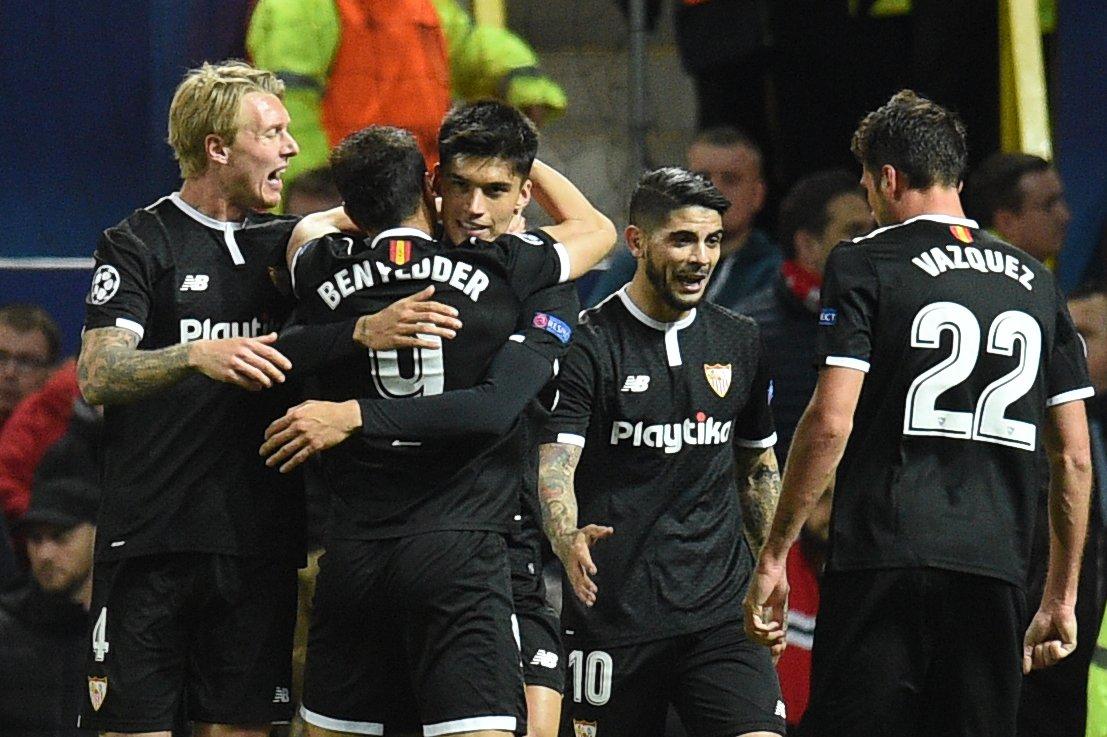 أهداف مباراة إشبيلية ومانشستر يونايتد 2-1 دوري الأبطال
