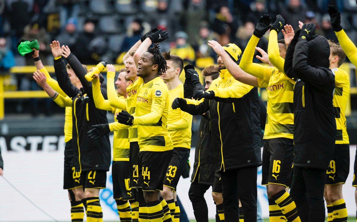 أهداف مباراة بروسيا دورتموند وهانوفر 1-0 الدوري الألماني