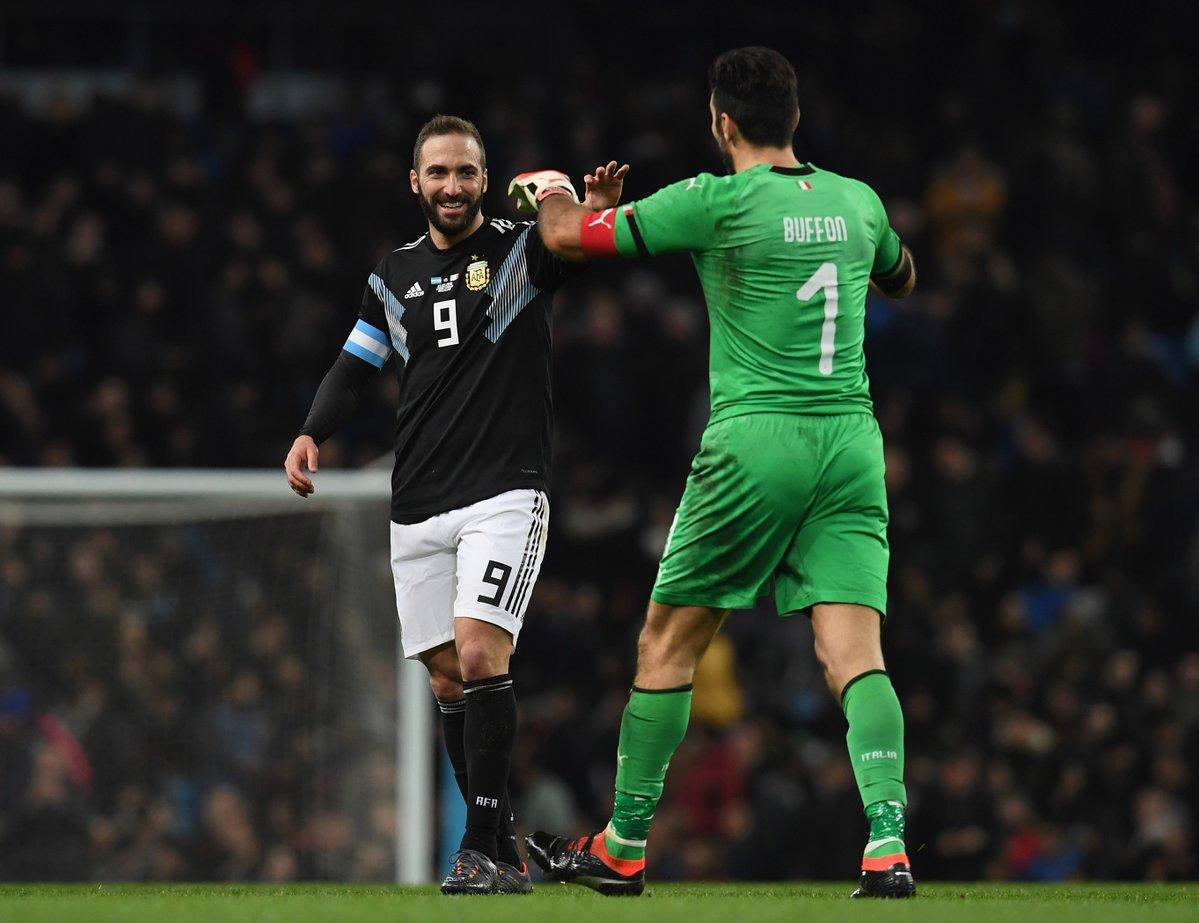 أهداف مباراة الأرجنتين وإيطاليا 2-0 مباراة ودية