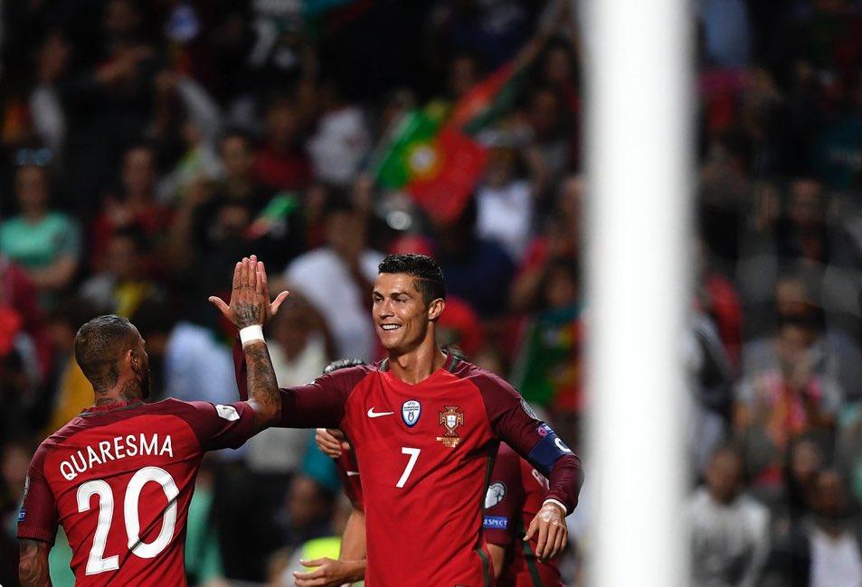 أهداف مباراة البرتغال ومصر 2-0 مباراة ودية