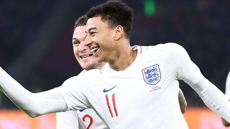 أهداف مباراة إنجلترا وهولندا 1-0 مباراة ودية