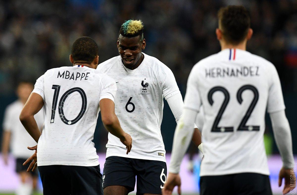 أهداف مباراة فرنسا وروسيا 3-1 مباراة ودية