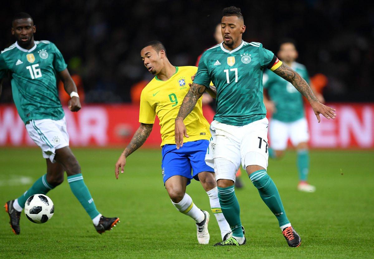 أهداف مباراة البرازيل وألمانيا 1-0 مباراة ودية