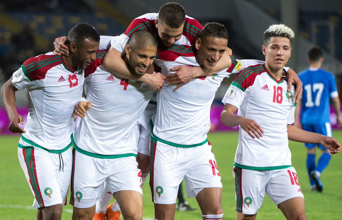 أهداف مباراة المغرب وأوزبكستان 2-0 مباراة ودية
