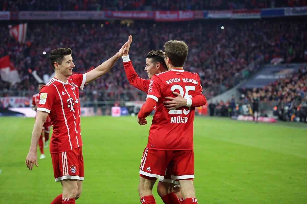 أهداف مباراة بايرن ميونخ وبروسيا دروتموند 6-0 الدوري الألماني