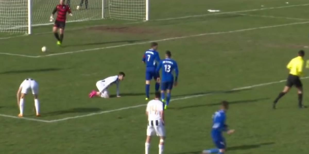 شاهد … وفاة لاعب كرواتي أثناء المباراة