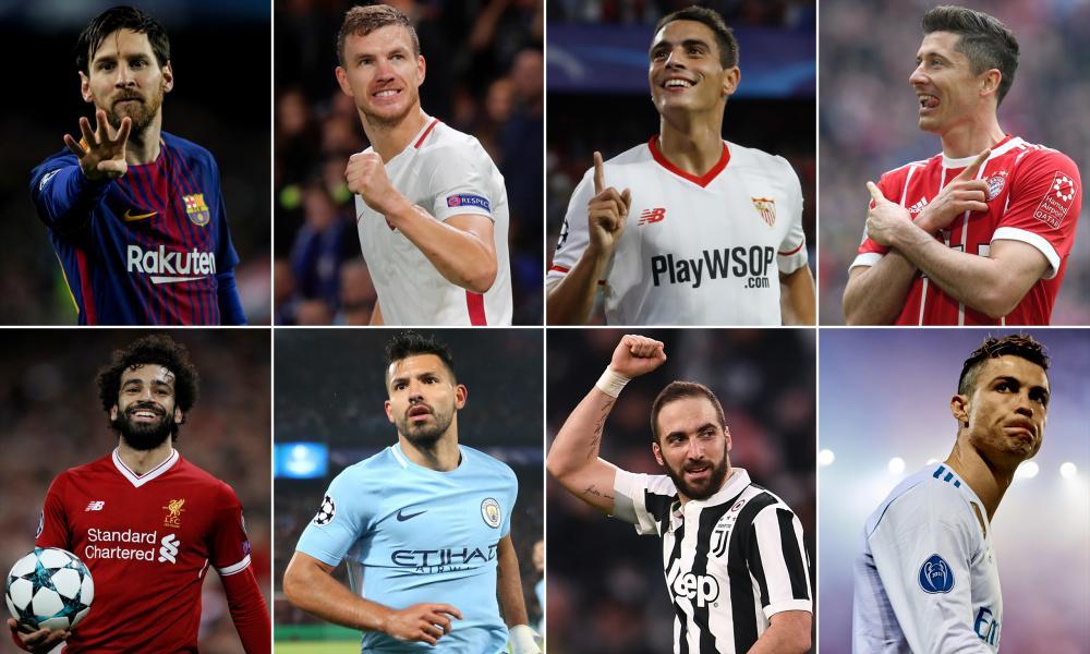 ترتيب هدافي دوري أبطال أوروبا هذا الموسم