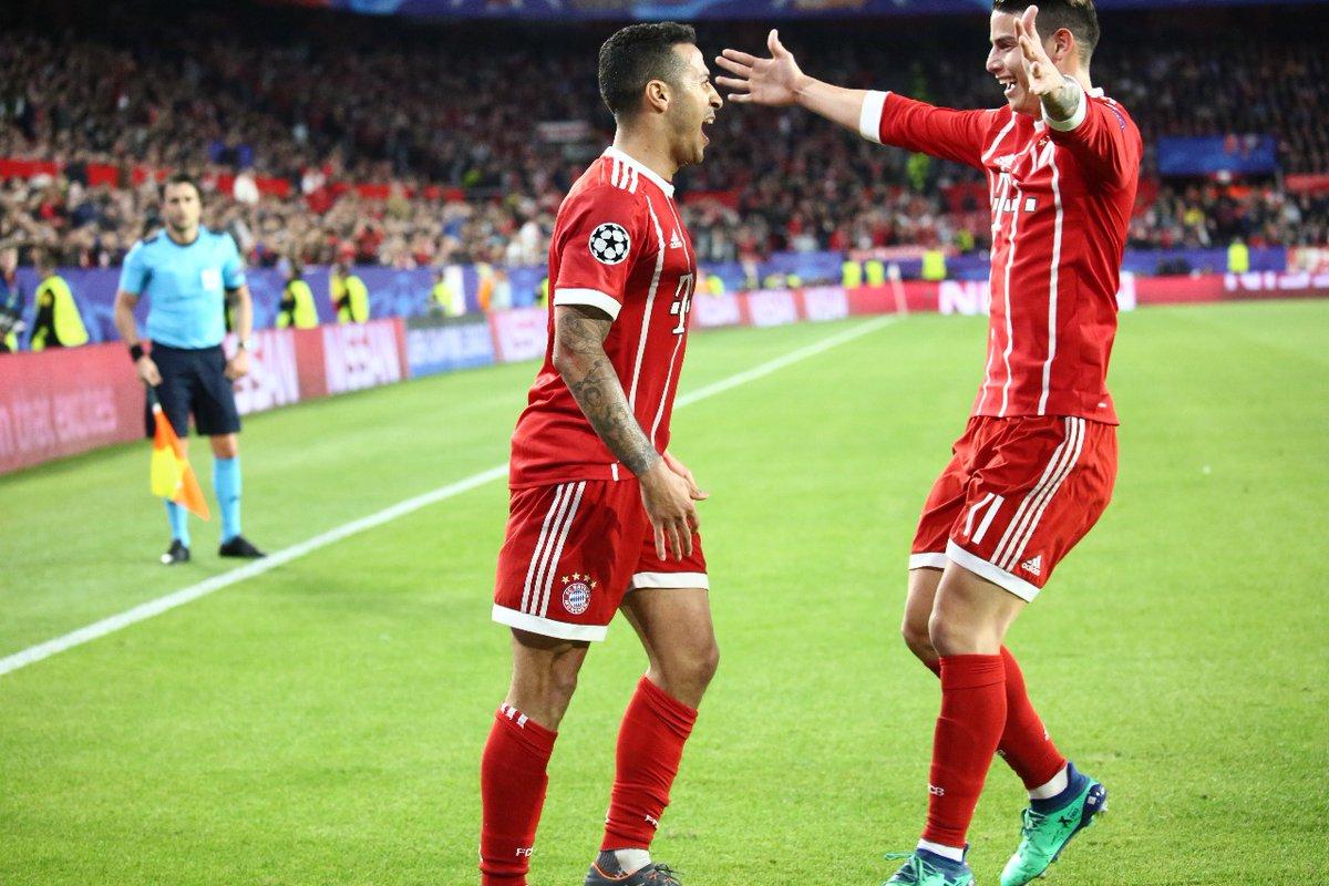 أهداف مباراة إشبيلية وبايرن ميونخ 1-2 دوري الأبطال