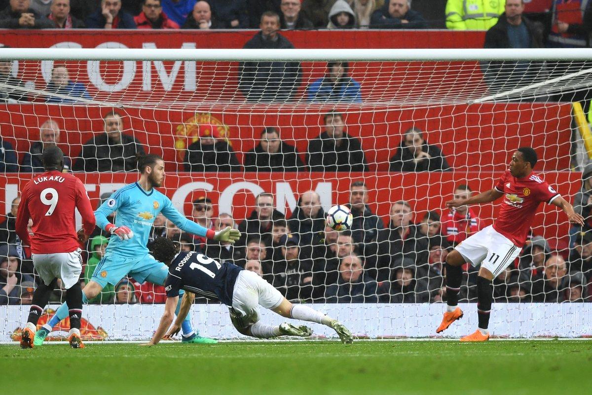 أهداف مباراة ويست بروميتش ومانشستر يونايتد 1-0 الدوري الإنجليزي