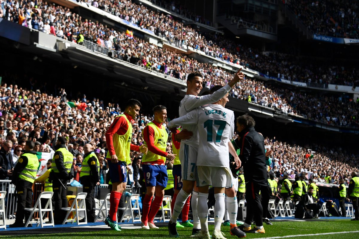 أهداف مباراة ريال مدريد وأتلتيكو مدريد 1-1 الدوري الإسباني