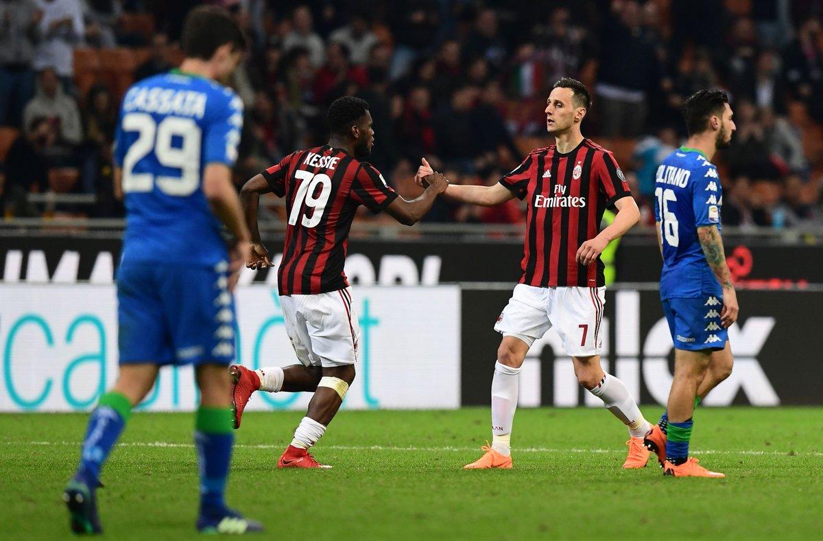 أهداف مباراة ميلان وساسولو 1-1 الدوري الإيطالي