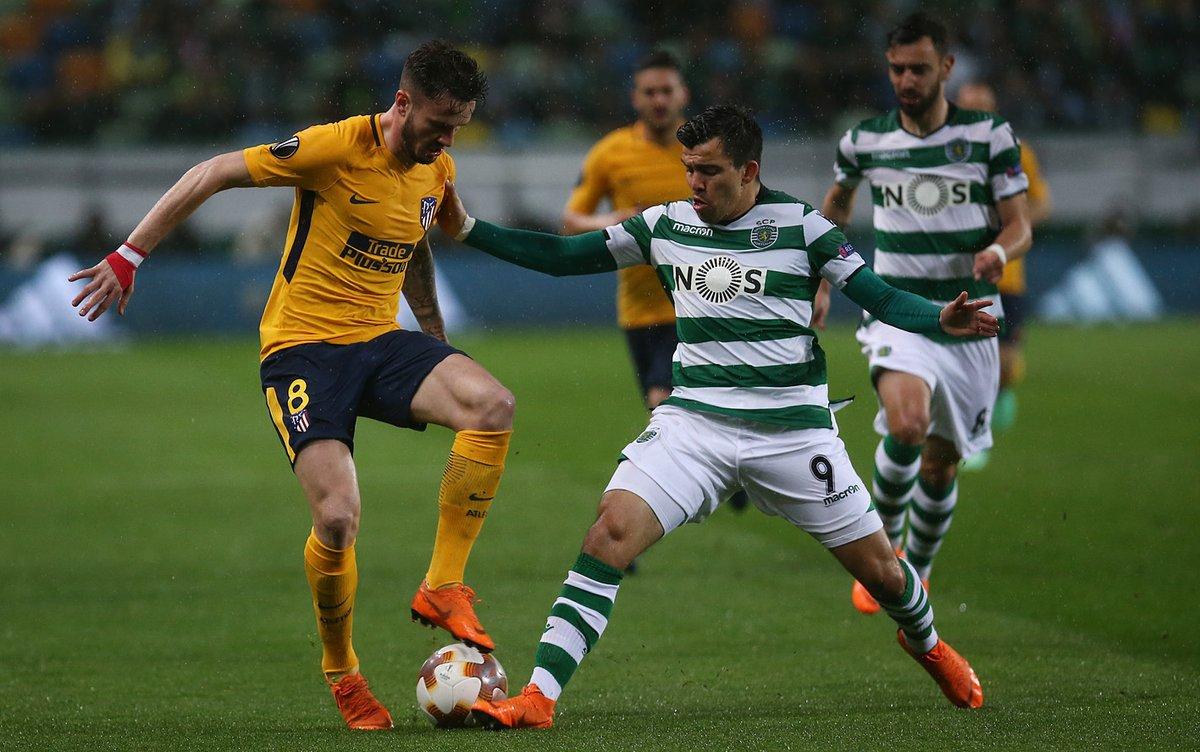أهداف مباراة سبورتينج لشبونة وأتلتيكو مدريد 1-0 الدوري الأوروبي