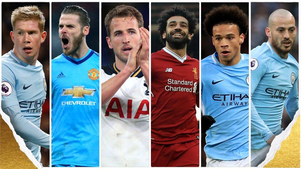 رسمياً … إعلان قائمة المرشحين لجائزة أفضل لاعب في الدوري الإنجليزي