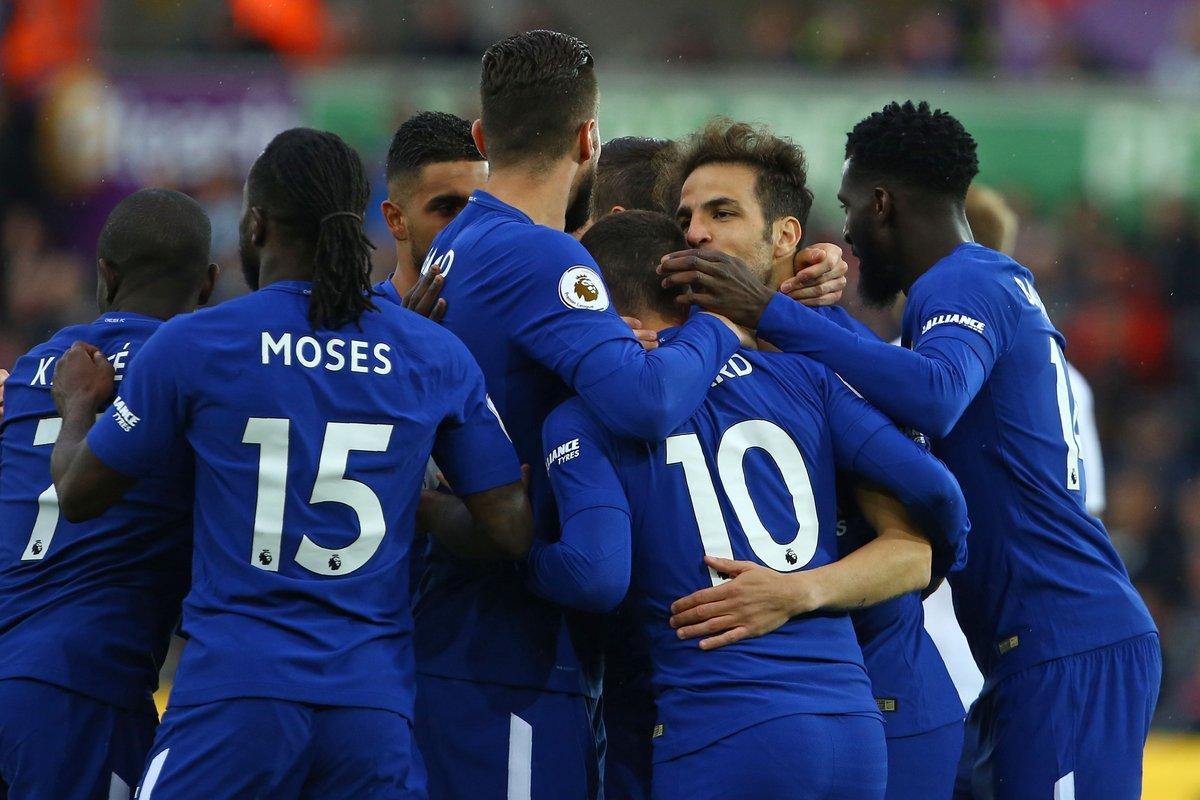 أهداف مباراة تشيلسي وسوانزي 1-0 الدوري الإنجليزي