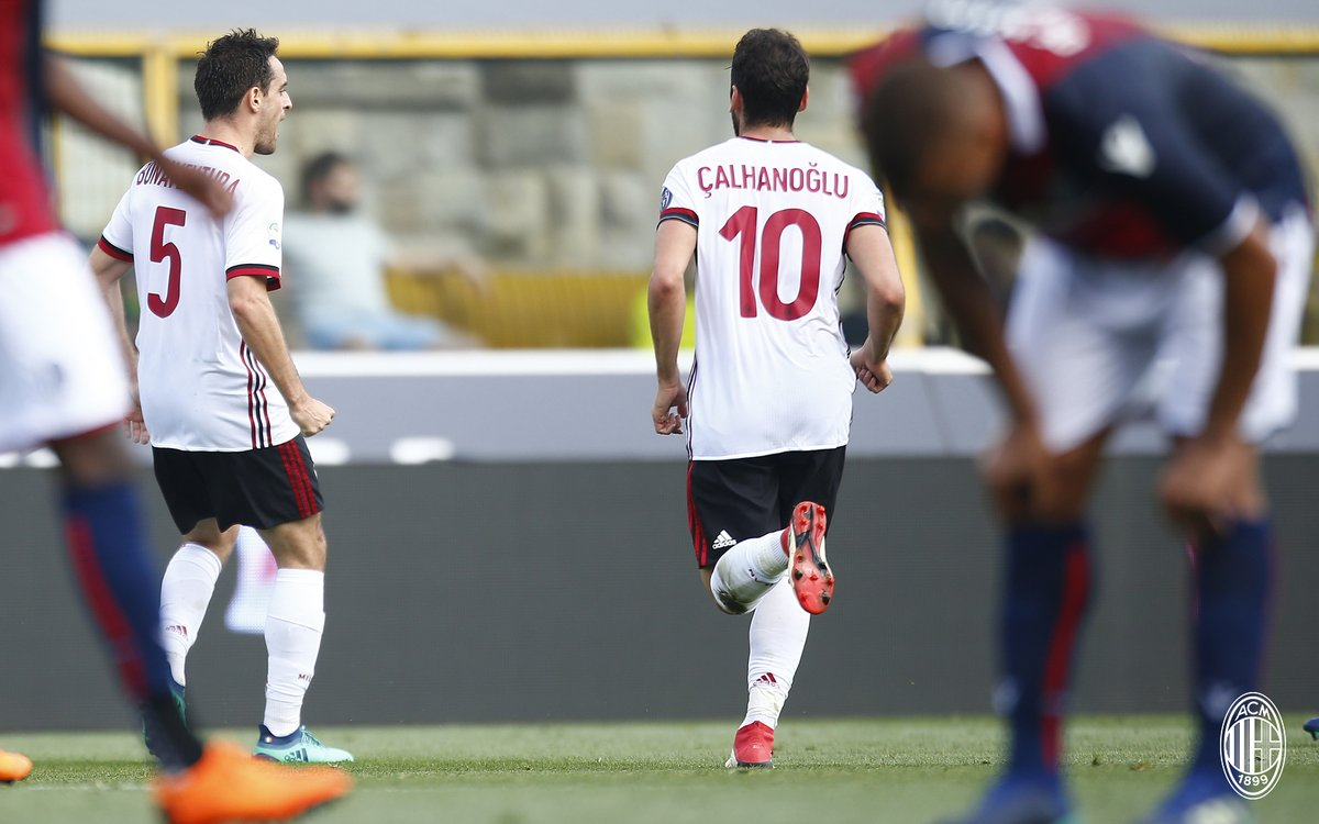 أهداف مباراة ميلان وبولونيا 2-1 الدوري الإيطالي