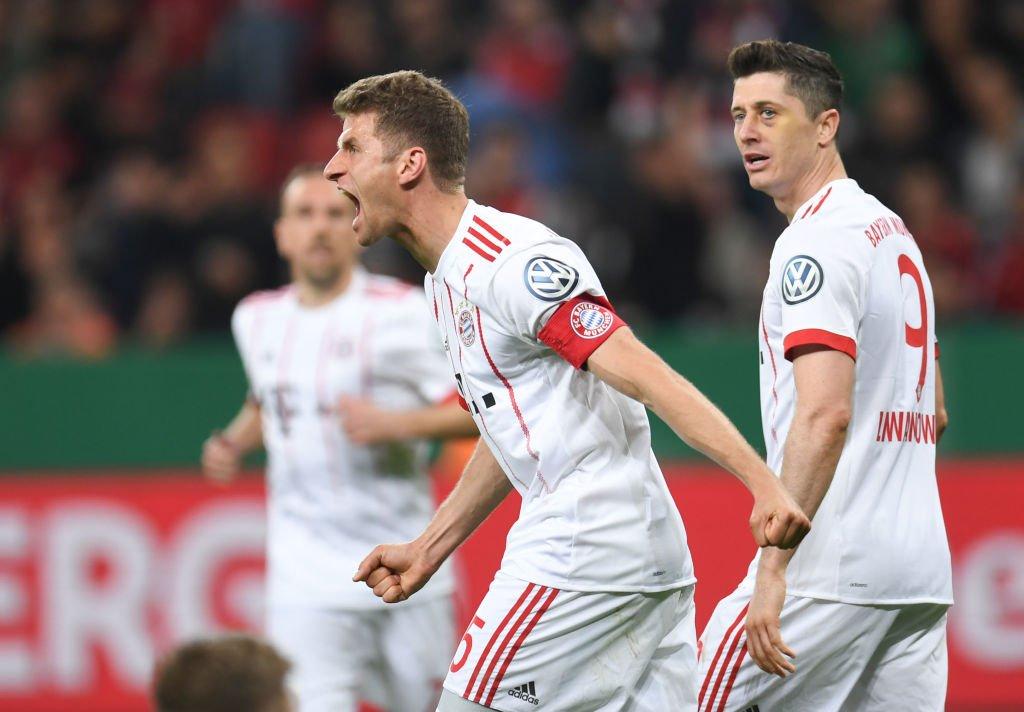 أهداف مباراة بايرن ميونخ وليفركوزن 6-2 كأس ألمانيا