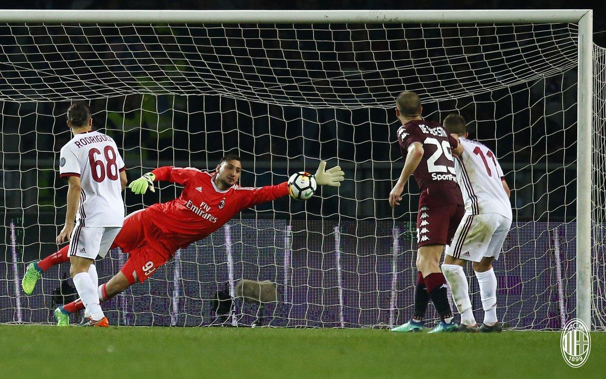 أهداف مباراة ميلان وتورينو 1-1 الدوري الإيطالي
