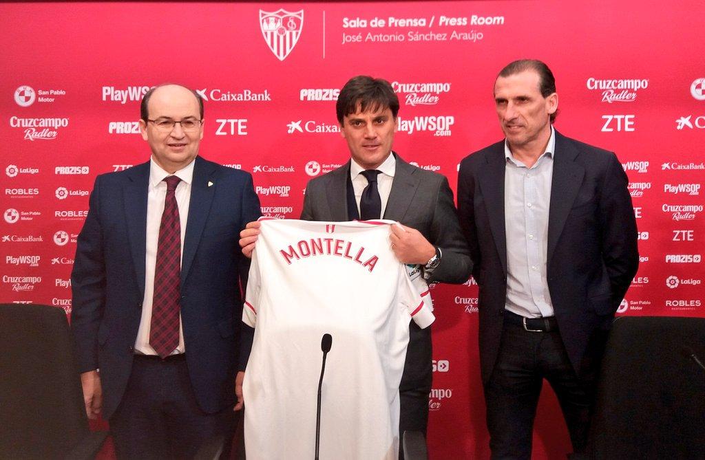 رسمياً … إشبيلية يُقرر إقالة المدرب مونتيلا بسبب سوء النتائج