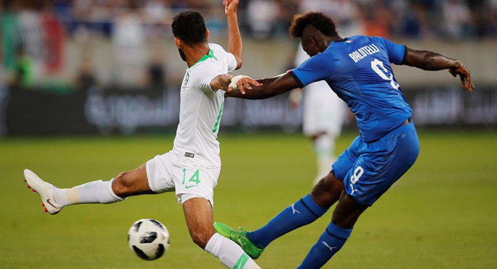 أهداف مباراة إيطاليا والسعودية 2-1 مباراة ودية