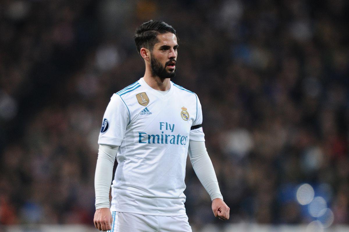 عاجل: إيسكو خارج قائمة ريال مدريد التي ستواجه بايرن ميونخ