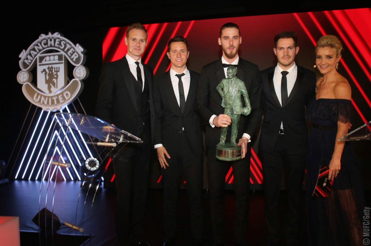 رسمياً … دي خيا أفضل لاعب بمانشستر يونايتد للموسم الحالي