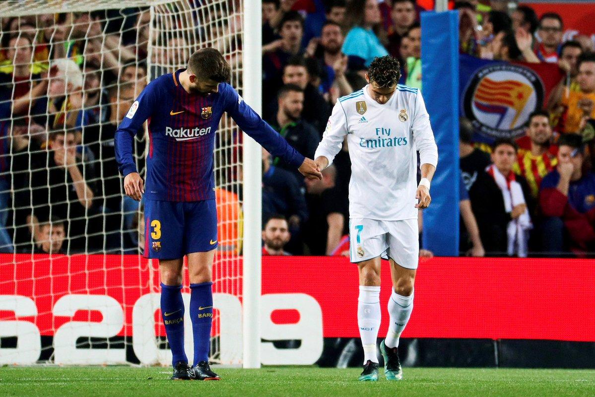 أهداف مباراة برشلونة وريال مدريد 2-2 الدوري الإسباني