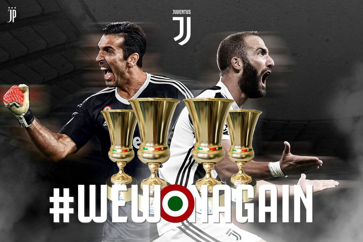 رسمياً … يوفنتوس بطلاً لكأس إيطاليا بفوز ساحق على ميلان