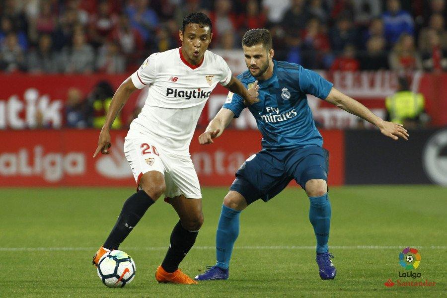 أهداف مباراة إشبيلية وريال مدريد 3-2 الدوري الاسباني