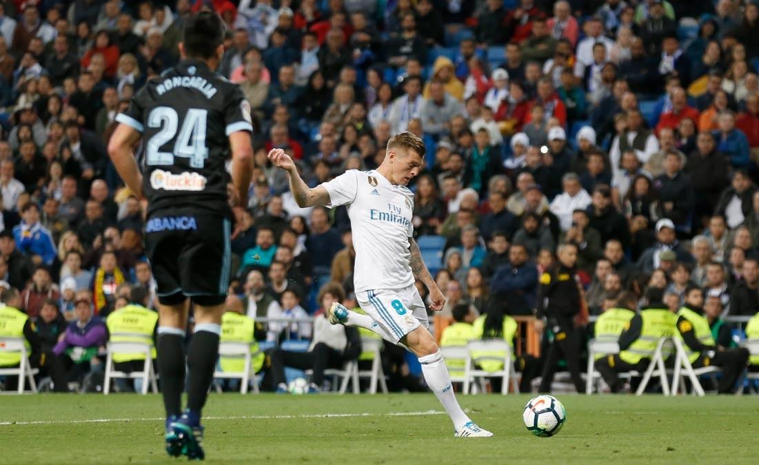 أهداف مباراة ريال مدريد وسيلتا فيغو 6-0 الدوري الإسباني