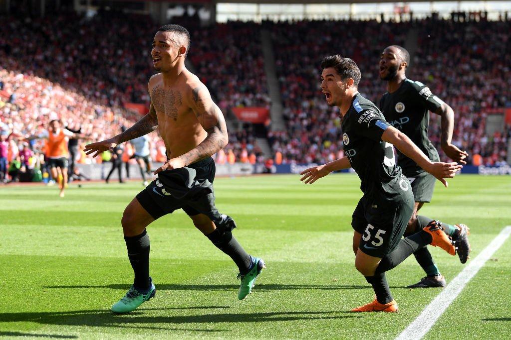 أهداف مباراة مانشستر سيتي وساوثهامبتون 1-0 الدوري الإنجليزي