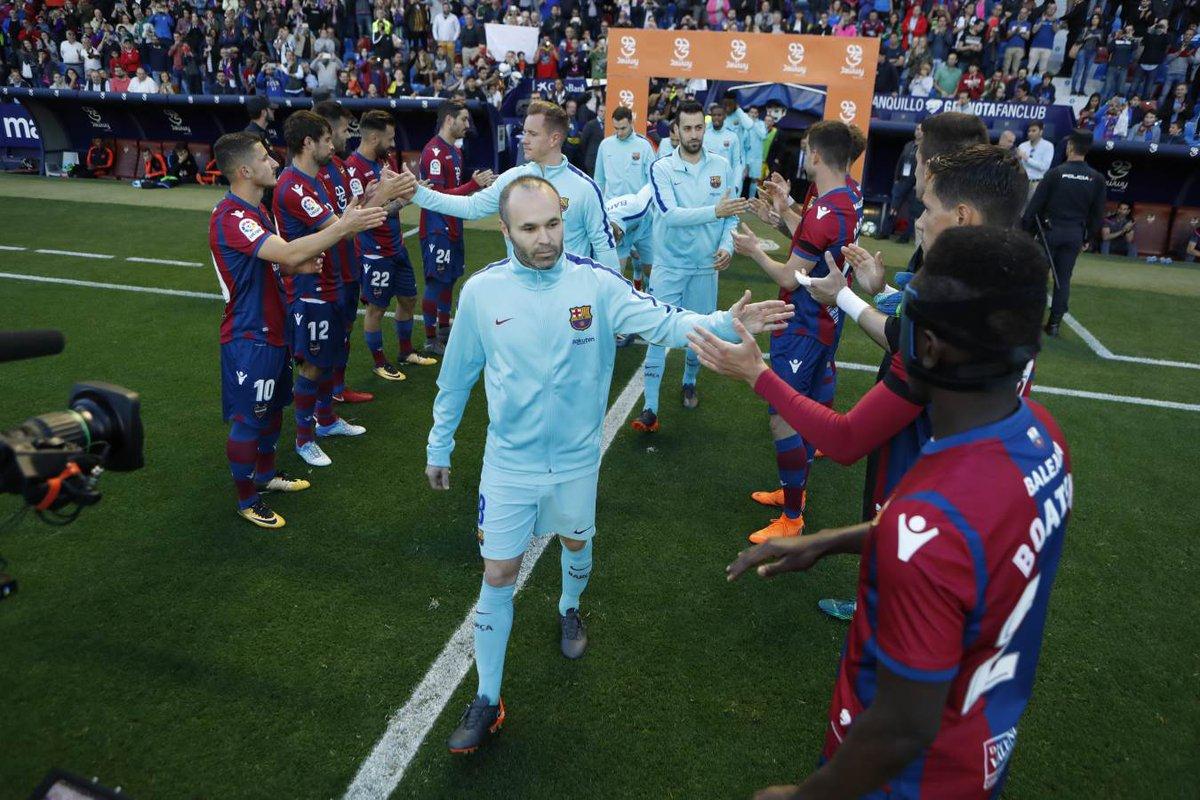 أهداف مباراة ليفانتي وبرشلونة 5-4 الدوري الإسباني