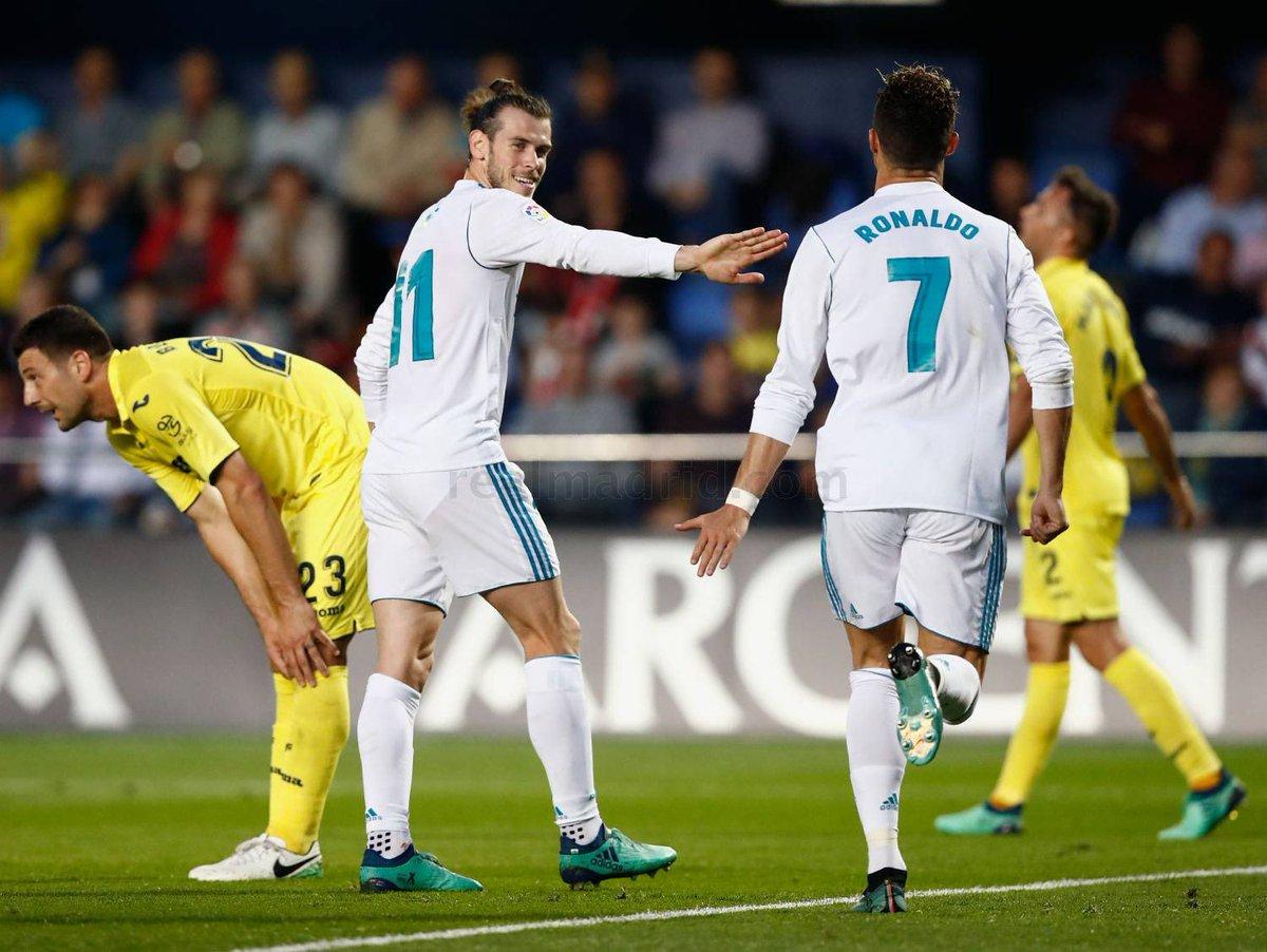 أهداف مباراة فياريال وريال مدريد 2-2 الدوري الإسباني