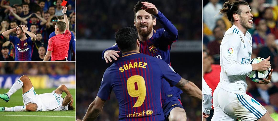 10 أرقام من مواجهة برشلونة وريال مدريد في الكلاسيكو